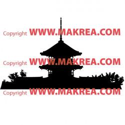 Sticker Asie