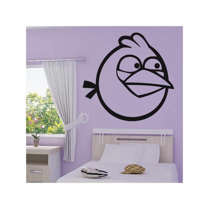 Sticker Angry Birds - Blue Bird