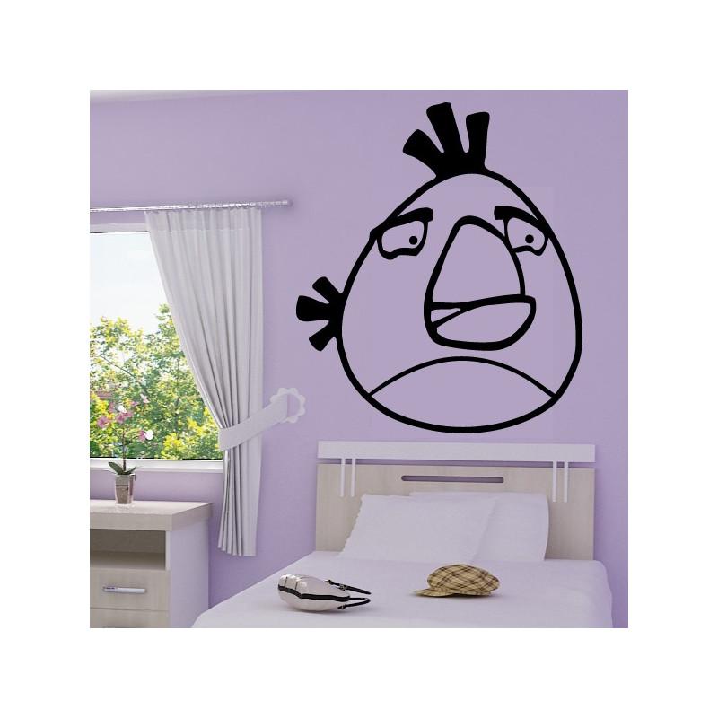 Sticker Angry Birds - White Bird Mathilde