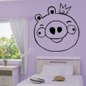 Sticker Angry Birds - Cochon