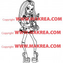 Sticker Monster High - Frankie Stein 2