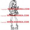 Sticker Monster High - Frankie Stein 2