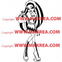 Sticker Monster High - Abbey Bominable