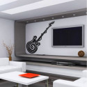 Sticker Guitare Design