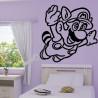 Sticker Super Mario Bros s'envol