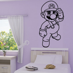 Sticker Super Mario Bros Debout