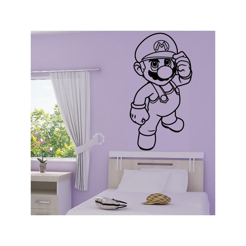 Sticker Super Mario Bros Debout