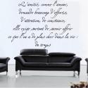 Sticker Citation : L'amitié, comme l'amour, demande beaucoup d'efforts ...