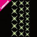 Sticker Luminescent Lot 18 Etoiles