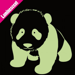 Sticker Luminescent Bébé Panda