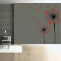 Sticker Pissenlits Coeurs 2 couleurs
