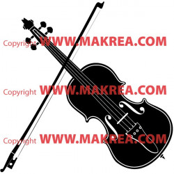 Sticker Violon