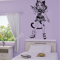 Sticker Monster High - Catrine DeMew