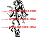Sticker Monster High - Cleo de Nile