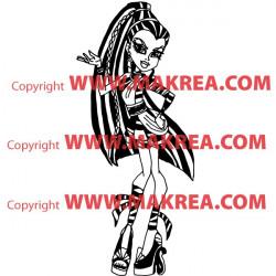 Sticker Monster High - Nefera de Nile