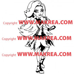 Sticker Monster High - Spectra Vondergeist