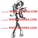 Sticker Monster High - Rochelle Goyle