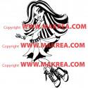 Sticker Monster High - Spectra Vondergeist