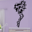Sticker Monster High - Robecca Steam