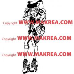 Sticker Monster High - Operetta