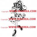 Sticker Monster High - Operetta en Robe