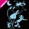 Sticker Luminescent Peter Pan, Wendy et ses frères s'envolent