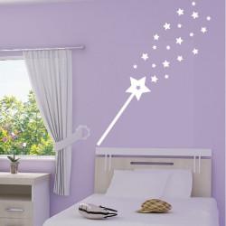 Baguette Magique Pluie d'étoiles