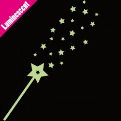 Luminescent Baguette Magique Pluie d'étoiles