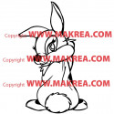 Sticker Bambi - Copine de Panpan