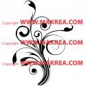 Sticker Fleurs Design 2