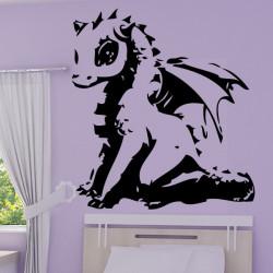 Sticker Dragon Sapphire