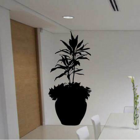 Plante verte gros pot