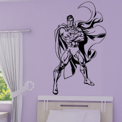 Sticker Superman Debout