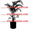 Sticker Plante verte en pot 4
