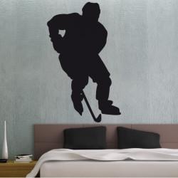 Silhouette Joueur de Hockey sur glace