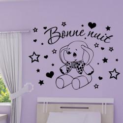 Sticker Eléphant Rigolo - Bonne nuit