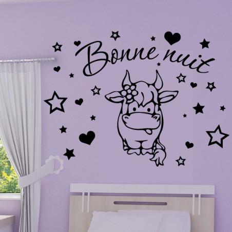 Bébé Vache Rigolote - Bonne nuit