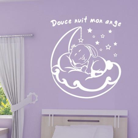 Bébé Lapin dort sur la Lune + Douce nuit mon ange