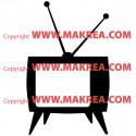 Sticke télévision rétro