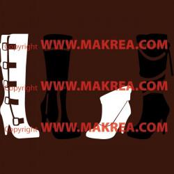 Sticker Bottes-Chaussures Femme