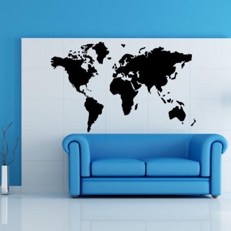 Carte du Monde - Mappemonde - Plasnisphère