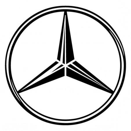 Miroir - Logo Mercedes