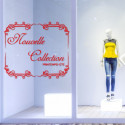 Sticker vitrine Cadre Nouvelle Collection Printemps-Ete
