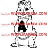 Sticker Alvin et les Chipmunks - Alvin