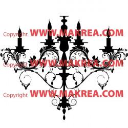 Sticker Lustre Baroque 2