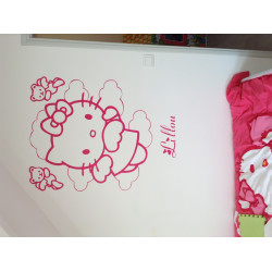 Sticker Hello Kitty Ange