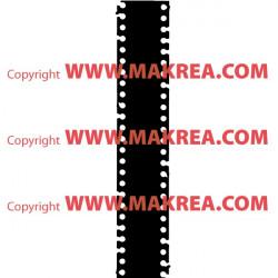 Sticker Bobine Film Cinéma