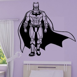 Sticker Batman et sa cape