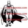 Sticker Batman et sa cape