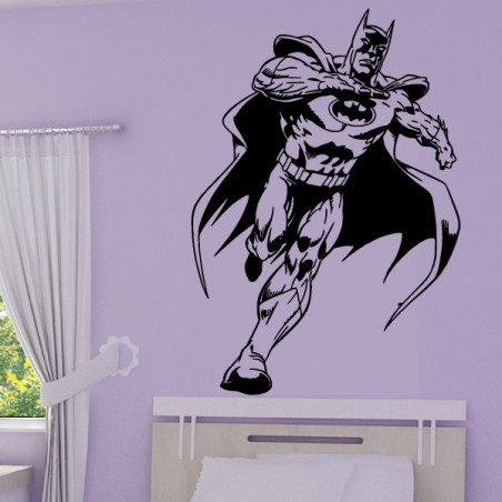 Sticker mural Batman courant